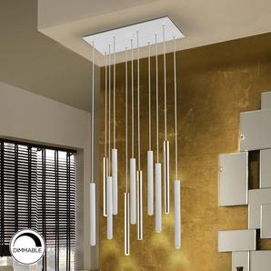 LED-Zylinder-Pendelleuchte 11-flammig Caledian