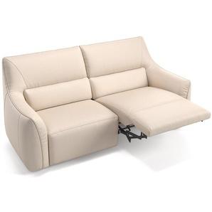 Leder 2 Sitzer Sofa PESARO Ledergarnitur