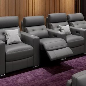 Leder 4-Sitzer Sofa MATERA Relaxsofa