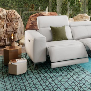 Leder Couch BORRELLO 3-Sitzer