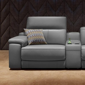 Leder Kinosofa Heimkino Couch SORA 2-Sitzer