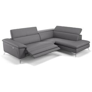 Leder Sofa mit Sitzverstellung STELLA