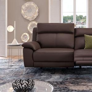 Ledercouch ALIANO Designersofa Dreisitzer Sofa