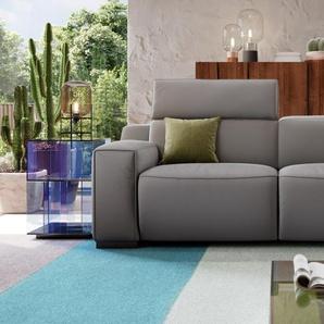 Ledergarnitur 3-Sitzer LORETO Relaxsofa Relax Couch
