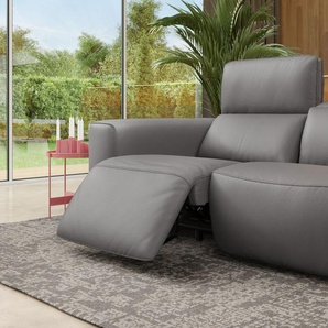 Ledersofa BINETTO 2-Sitzer Couch Echtleder