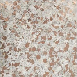Fellteppich »Spark 210«, Kayoom, rechteckig, Höhe 8 mm, Patchwork-echtes Leder-Fell
