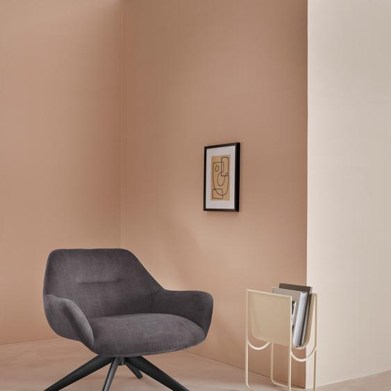 LeGer Home by Lena Gercke Loungesessel Noemi Cord grau Drehsessel Sessel