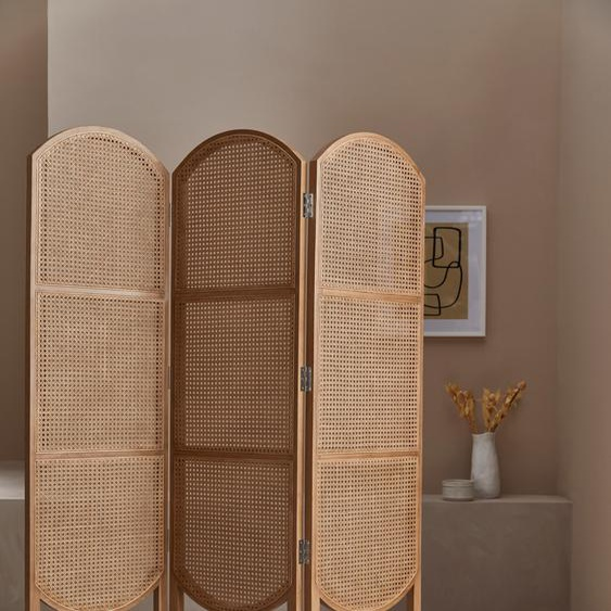 LeGer Home by Lena Gercke Paravent Alena 136x4x170 cm beige Paravents Raumteiler Wohnaccessoires Stellwände