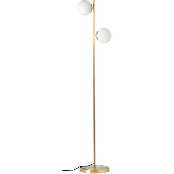 LeGer Home by Lena Gercke,Stehlampe Joleen 2 -flg. / Ø13 cm, Ø33 cm H:150 goldfarben Standleuchten Stehleuchten Lampen Leuchten