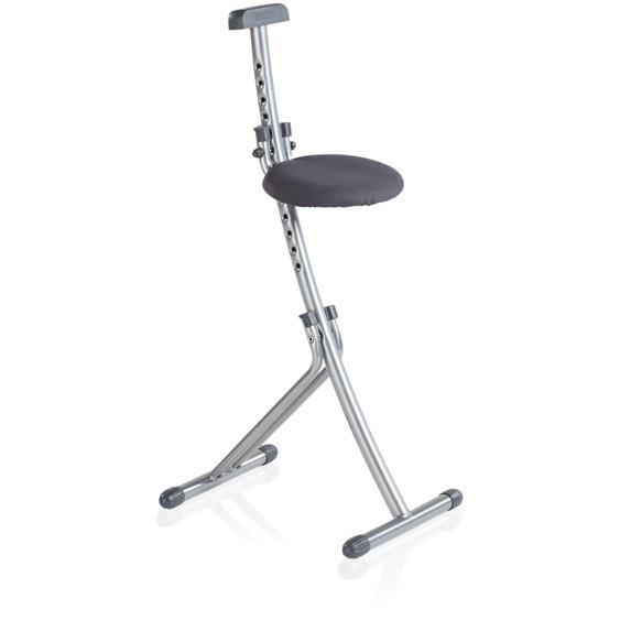 Leifheit Stehhilfe Niveau Einheitsgröße grau Klappstühle Weitere Stühle Sitzbänke