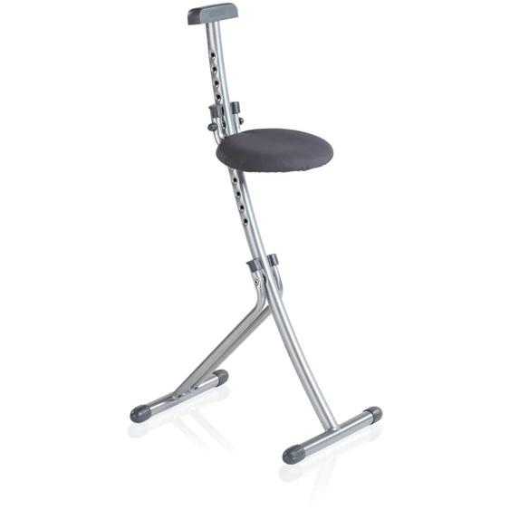 Leifheit Stehhilfe Niveau, (Multisitz) Einheitsgröße grau Klappstühle Weitere Stühle Sitzbänke