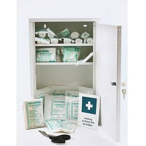 LEINA-WERKE Medizinschrank Medisan D DIN 13157 weiß
