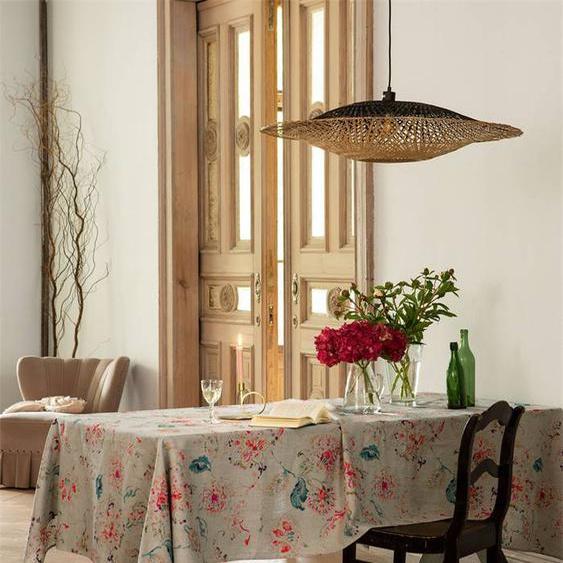 Leinentischdecke Tosca - bunt - 100 % Leinen - Tischwäsche