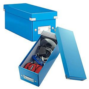 LEITZ Click & Store CD-/DVD-Box blau