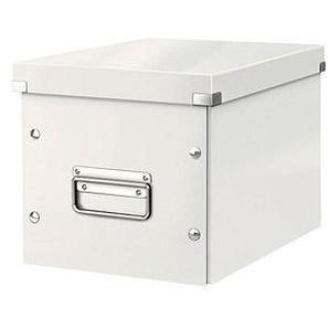 LEITZ Click & Store Aufbewahrungsbox 10,0 l weiß 26,0 x 26,0 x 24,0 cm