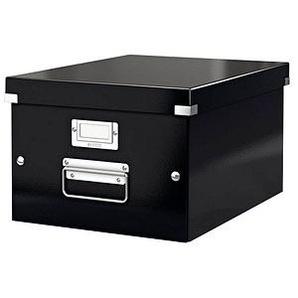 LEITZ Click & Store Aufbewahrungsbox 16,7 l schwarz 28,1 x 36,9 x 20,0 cm