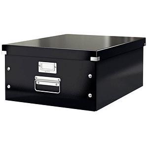 LEITZ Click & Store Aufbewahrungsbox 1800 Blatt schwarz 36,9 x 48,2 x 20,0 cm