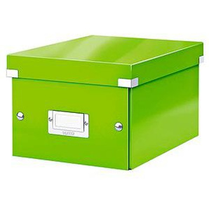 LEITZ Click & Store Aufbewahrungsbox 7,4 l grün 21,6 x 28,2 x 16,0 cm