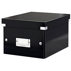 LEITZ Click & Store Aufbewahrungsbox 7,4 l schwarz 21,6 x 28,2 x 16,0 cm