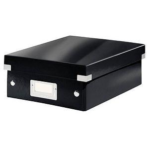 LEITZ Click & Store Aufbewahrungsbox 900 Blatt schwarz 22,0 x 28,5 x 10,0 cm