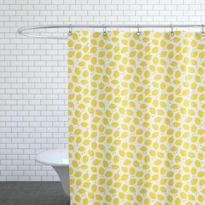 Lemon-Duschvorhang