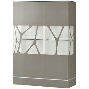 LEONARDO Highboard  Cube ¦ braun ¦ Maße (cm): B: 110 H: 158 T: 42 Kommoden & Sideboards  Highboards » Höffner