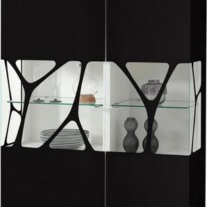 LEONARDO living Highboard »CUBE« mit Genetics, wahlweise mit Beleuchtung, Höhe 110 cm
