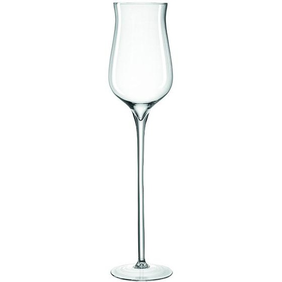 Leonardo Windlicht , Transparent , Glas , 18.6x80x18.6 cm