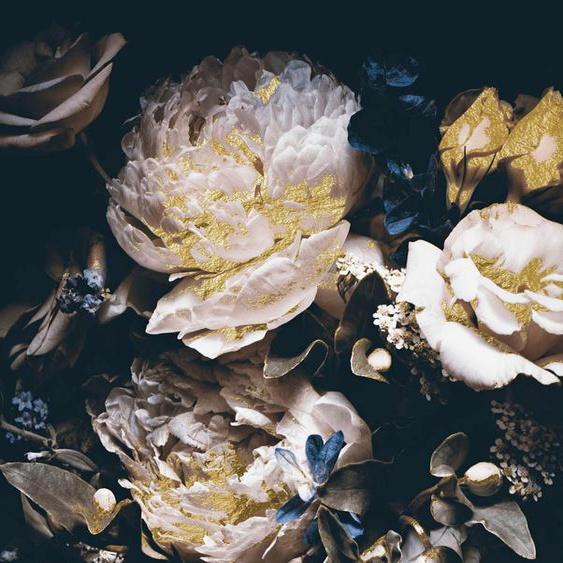 Leonique Acrylglasbild Blüten B/H/T: 150 cm x 100 2,4 cm, schwarz Acrylglasbilder Bilder Bilderrahmen Wohnaccessoires