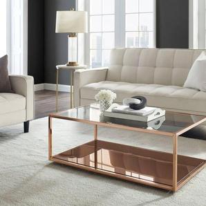 Leonique Couchtisch »Jacoby«, Elegantes Design, Ablageboden