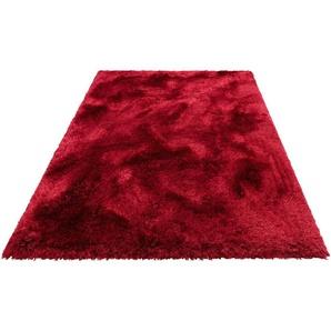 Leonique Hochflor-Teppich »Lasse«, 200x300 cm, rot