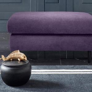 Leonique Hocker »Cadillo«, mit schlichten Holzfüßen in schwarz, perfekte Ergänzung zur Serie »Cadillo«