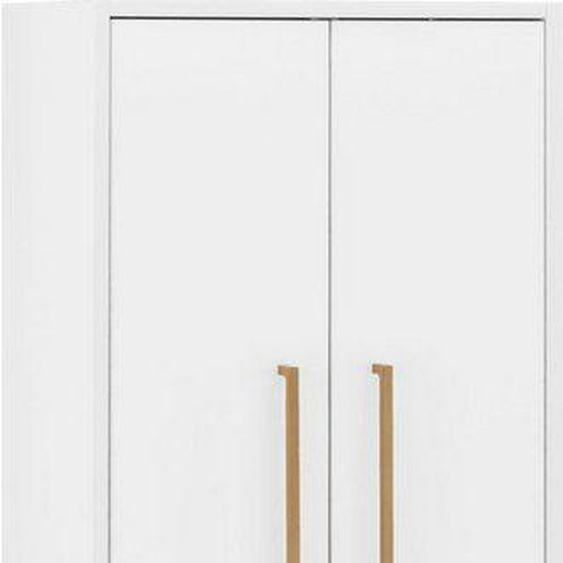 Leonique Midischrank »Marceau« mit Soft-Close-Funktion und goldfarbenen Metallelementen