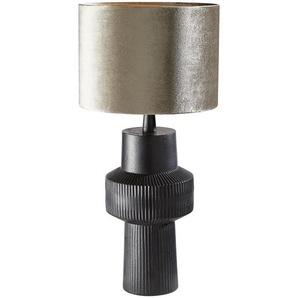 LEUCHTENFUß , Schwarz , Metall , 33.5 cm , Innenbeleuchtung, Lampenschirme & -füße