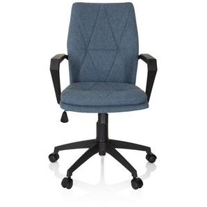 LEVIO - Home Office Bürostuhl Blau meliert