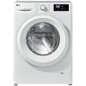 LG Electronics Waschvollautomat  F 14WM 7LN0 - weiß - Kunststoff, Metall-lackiert, Glas - 60 cm - 85 cm - 56 cm   Möbel Kraft