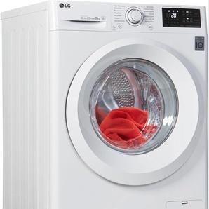 Waschmaschine F14WM8LN0, weiß, Energieeffizienzklasse: A+++, LG