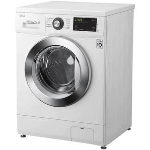 LG Waschmaschine F1496QD3HT1, 7 kg, 1400 U/min D (A bis G) Einheitsgröße weiß Waschmaschinen SOFORT LIEFERBARE Haushaltsgeräte