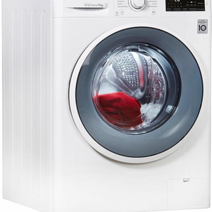 Waschmaschine F14WM9EN0, Fassungsvermögen: 9 kg, weiß, Energieeffizienzklasse: A+++, LG