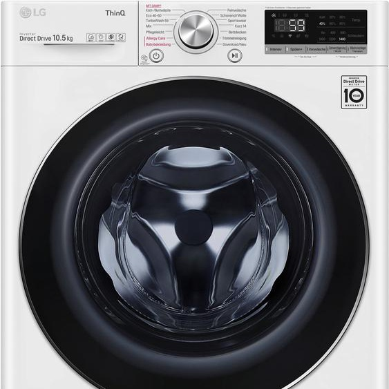 LG Waschmaschine F4WV510S0E, 10,5 kg, 1400 U/min, Energieeffizienz: B