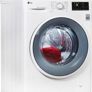 Waschmaschine F14WM8EN0, Fassungsvermögen: 8 kg, weiß, Energieeffizienzklasse: A+++, LG