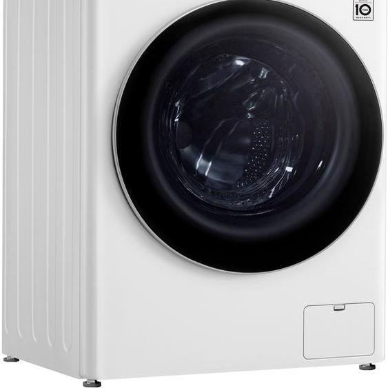LG Waschmaschine Serie 4 F4WV409S1, 9 kg, 1400 U/min, Energieeffizienz: D
