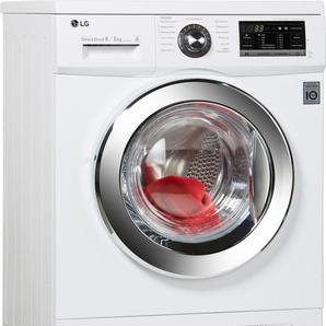 Waschtrockner F14G6TDM2NH, Fassungsvermögen: 8 kg, weiß, Energieeffizienzklasse: A, LG