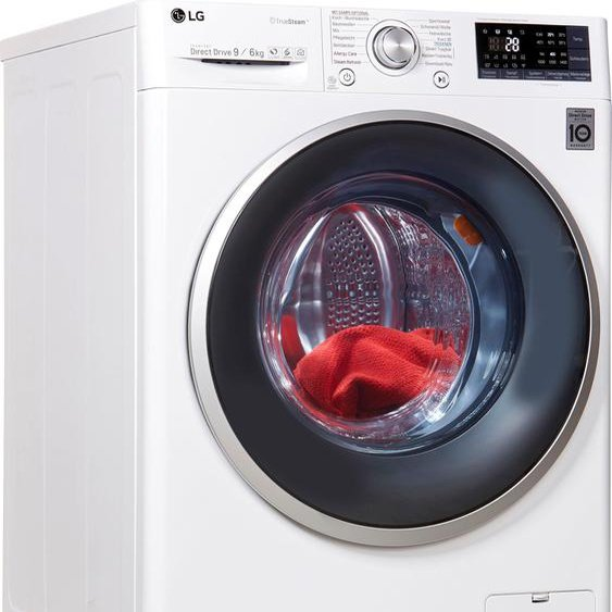 LG Waschtrockner,  Fassungsvermögen9 kg, Energieeffizienzklasse A