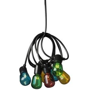 Glühbirne-Lichterkette mit 20 Leuchten