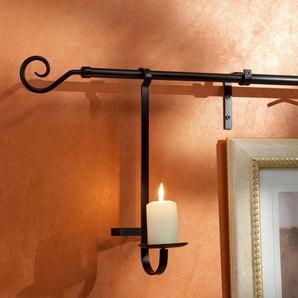 Kerzenhalter Liedeco, passend für Gardinenstangen