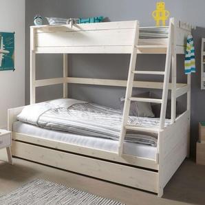 LIFETIME Familienbett Original, weiß mit Holzstruktur, 90x200 cm