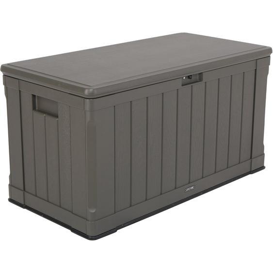 Lifetime Kissenbox 128 cm x 64 cm x 67 cm Dunkelbraun