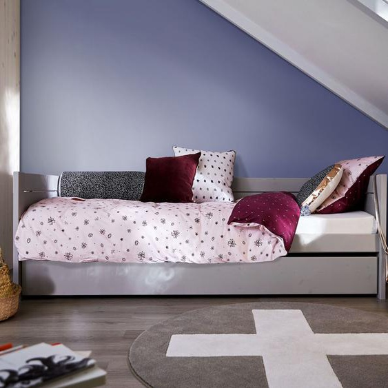 LIFETIME Sofabett Original, grau, 90x200 cm, mit Einlege-Lattenrost