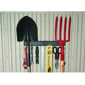 Lifetime Werkzeughalteleiste (2x) anthrazit 40 x 2,5 x 6 cm